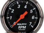 Autometer Designer Чёрный 2 1/16 тахометр 7000 RPM