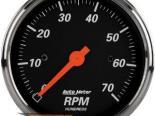 Autometer Designer Чёрный 3 1/8 тахометр 7000 RPM