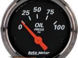 Autometer Designer Чёрный 2 1/16 давление масла Датчик