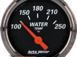 Autometer Designer Чёрный 2 1/16 температуры жидкости Датчик