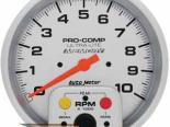 Autometer Ultra Lite 5&#34 тахометр Single/Memory 10000 RPM