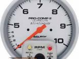 Autometer Ultra Lite 5&#34 тахометр Dual/Memory 10000 RPM