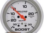 Autometer Ultra Lite 2 5/8 Boost/Vacuum Датчик