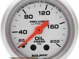 Autometer Ultra Lite 2 1/16 давление масла 0-200 Датчик