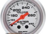 Autometer Ultra Lite 2 1/16 температуры жидкости 140-280 Датчик