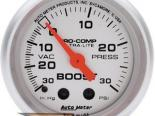 Autometer Ultra Lite 2 5/8 Boost 30PSI/Vacuum Датчик