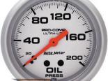 Autometer Ultra Lite 2 5/8 давление масла 0-200 Датчик