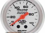 Autometer Ultra Lite 2 1/16 давления топлива 0-100 Датчик
