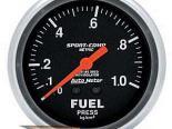 Autometer Sport-Comp 2 5/8 Metric давления топлива w/ Isolator Gaug