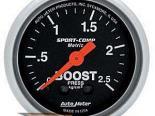 Autometer Sport-Comp 2 1/16 Metric Boost Датчик