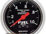 Autometer Sport-Comp 2 1/16 Metric давления топлива 0-1 Bar Датчик
