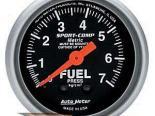 Autometer Sport-Comp 2 1/16 Metric давления топлива 0-7 Датчик