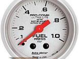 Autometer Ultra-Lite 2 1/16 Metric давления топлива Датчик