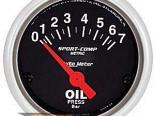 Autometer Sport-Comp 2 1/16 Metric давление масла Датчик