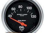 Autometer Sport-Comp 2 5/8 Metric температуры масла 40-120 Датчик