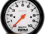 Autometer Phantom 3 3/8 тахометр Single Range 10000 RPM
