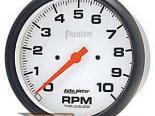 Autometer Phantom 5in. тахометр Single Range 10000 RPM