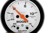 Autometer Phantom 2 1/16 Boost 15 PSI/Vacuum Датчик