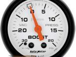 Autometer Phantom 2 1/16 Boost 20 PSI/Vacuum Датчик