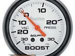 Autometer Phantom 2 5/8 Boost 30 PSI/Vacuum Датчик