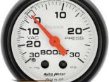 Autometer Phantom 2 1/16 Boost 30 PSI/Vacuum Датчик