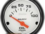 Autometer Phantom 2 1/16 давление масла Датчик
