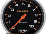 Autometer Pro-Comp 5in. тахометр 10000 RPM