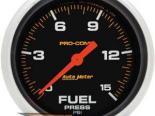 Autometer Pro-Comp 2 5/8 давления топлива Датчик