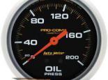 Autometer Pro-Comp 2 5/8 давление масла 0-200 Датчик