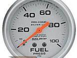 Autometer серебристый 2 5/8 давления топлива 0-100 Датчик