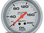 Autometer серебристый 2 5/8 давление масла 0-200 Датчик