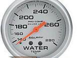 Autometer серебристый 2 5/8 температуры жидкости 140-280 Датчик