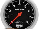 Autometer Sport-Comp 3 3/8 тахометр 8000 RPM