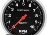 Autometer Sport-Comp 5in. тахометр 10000 RPM