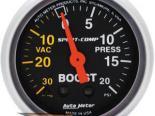 Autometer Sport-Comp 2 1/16 Boost 20 PSI/Vacuum Датчик