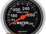 Autometer Sport-Comp 2 1/16 температуры жидкости 140-280 Датчик