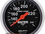 Autometer Sport-Comp 2 1/16 температуры жидкости 120-240 Датчик