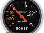 Autometer Sport-Comp 2 5/8 Boost 30 PSI/Vacuum Датчик