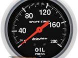 Autometer Sport-Comp 2 5/8 давление масла 0-200 Датчик