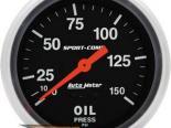 Autometer Sport-Comp 2 5/8 давление масла 0-150 Датчик