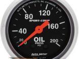 Autometer Sport-Comp 2 1/16 давление масла 0-200 Датчик