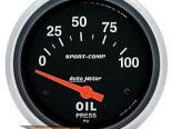 Autometer Sport-Comp 2 5/8 давление масла Датчик