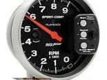 Autometer Sport-Comp 5in. тахометр Playback 9000 RPM