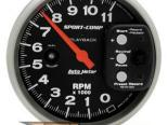 Autometer Sport-Comp 5in. тахометр Playback 11000 RPM