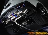 Cat Back Amuse R1 Titan Extra STTI  из титана на Nissan Skyline R35 GTR 09+