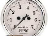 Autometer Old Tyme Белый 2 1/16 тахометр 7000 RPM