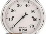 Autometer Old Tyme Белый 3 1/8 тахометр 7000 RPM