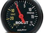 Autometer Z Series 2 1/16 Boost 20PSI/Vacuum Датчик