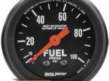 Autometer Z Series 2 1/16 давления топлива 0-100 Датчик