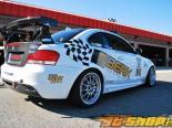 Карбоновый спойлер APR GTC200 на BMW 135i 08+